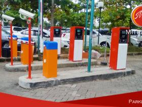 Portal parkir Otomatis